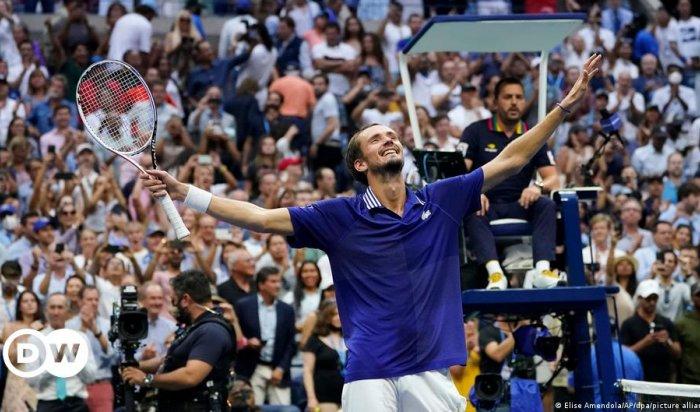Даниил Медведев стал победителем USOpen