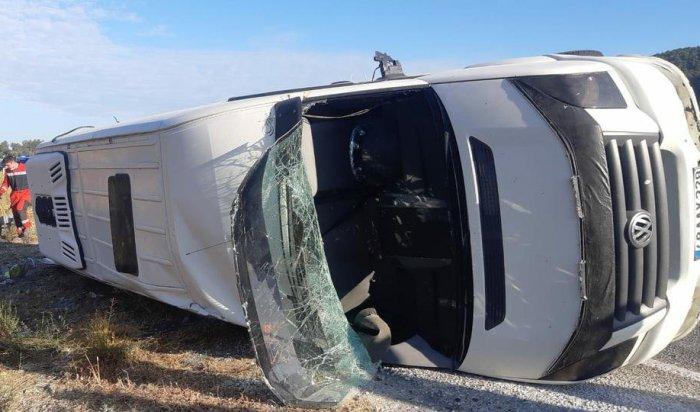 Наюго-западе Турции разбился автобус