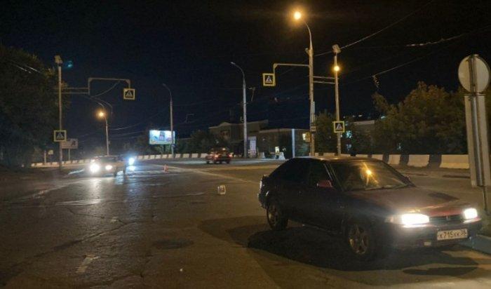 В Иркутске водитель без прав сбил маму с ребенком на пешеходном переходе