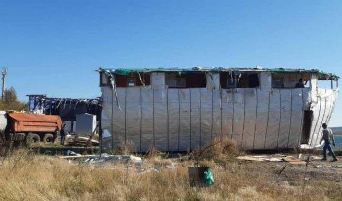 Вмикрорайоне Солнечный демонтируют незаконные объекты