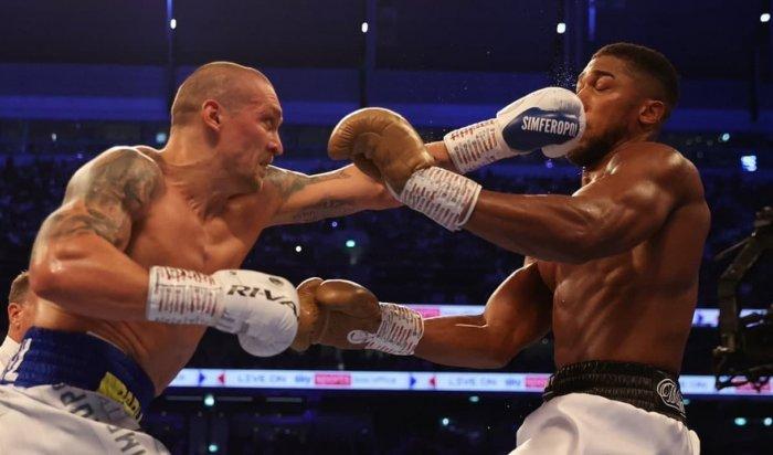 Украинский боксёр Александр Усик одержал победу над британцем Энтони Джошуа