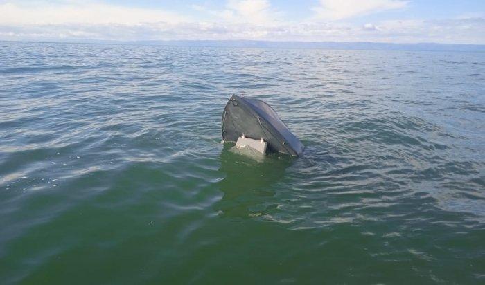 На Байкале обнаружена моторная лодка пропавших рыбаков