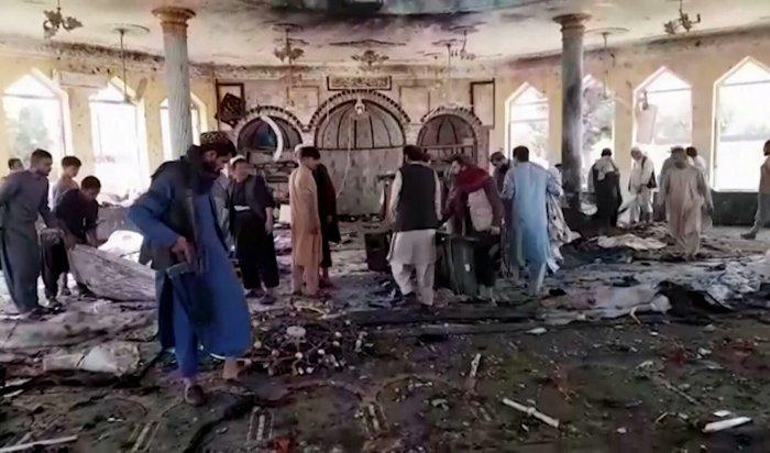 Около сотни человек погибли при взрыве в шиитской мечети на севере Афганистана (Видео)