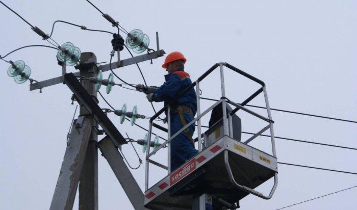 Четыре поселка Тайшетского района остались без света из-за аварии