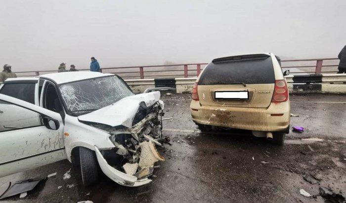 Восемь человек погибли в ДТП за прошедшую неделю в Иркутской области