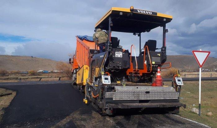 Завершается ремонт дороги Баяндай – Еланцы – Хужир