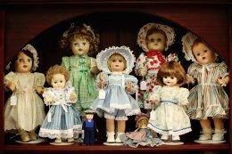 Выставка редких кукол