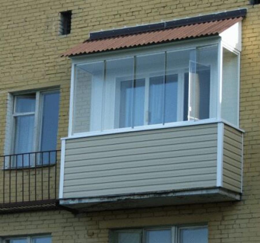 Балконы и лоджии - фотоальбомы - окна новый стиль.