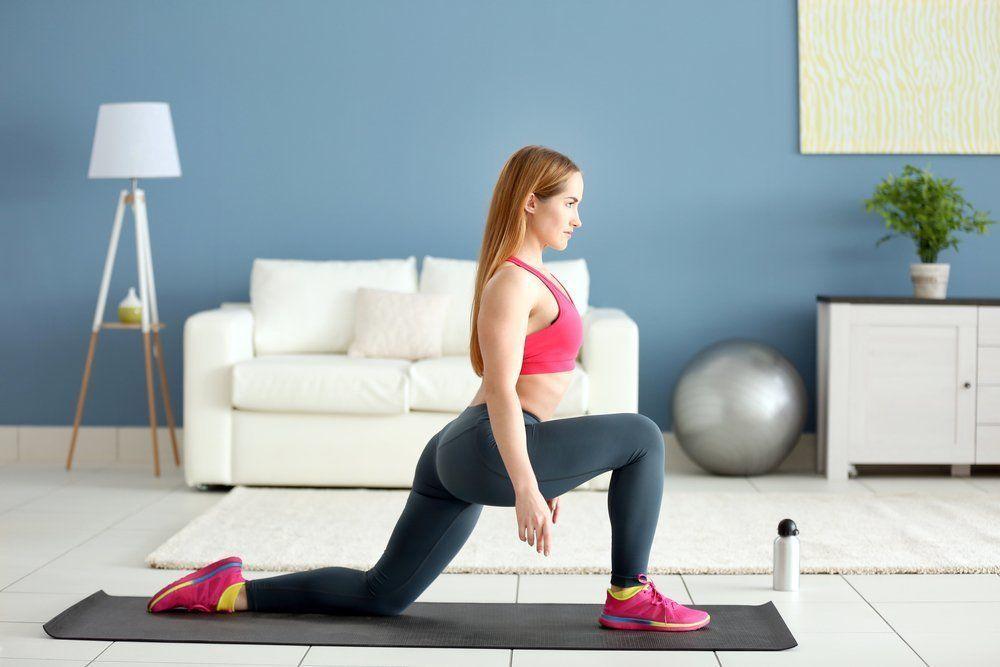 Тренинг похудения дома